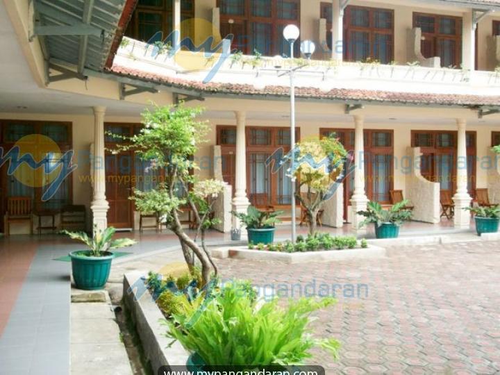 Tampilan Krisna Beach Hotel 2 Pangandaran