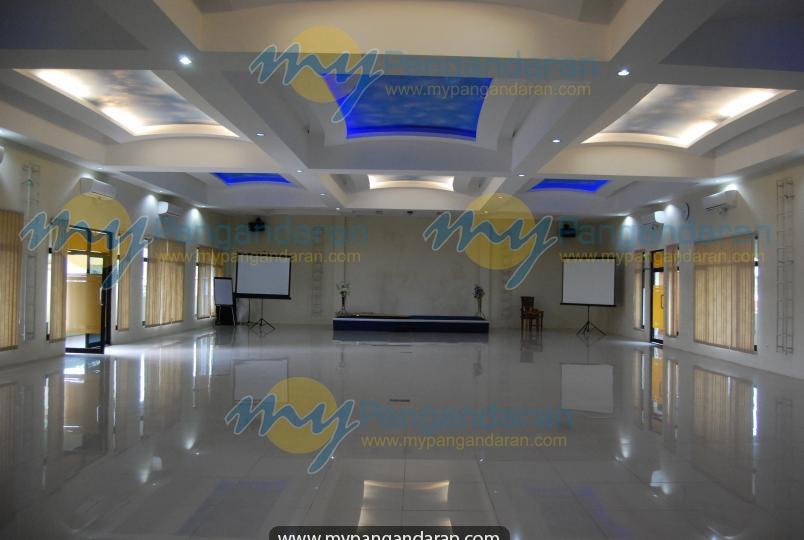 Tampilan Aula Krisna Beach Hotel 2 Pangandaran